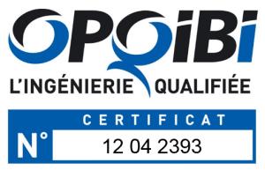 Logo OPQIBI - avec n° certif