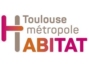 Logo Toulouse Métropole Habitat