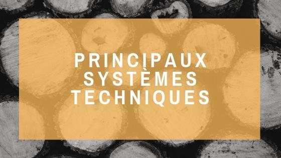 Ecozimut - Fiche technique - Les principaux systèmes techniques