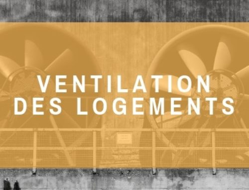 La ventilation dans les bâtiments d'habitation