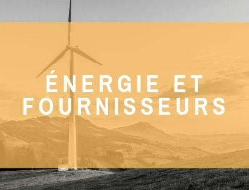 Énergie et fournisseurs