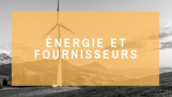 Ecozimut - Fiche technique - Énergies et fournisseurs