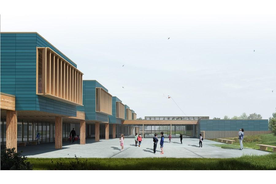 Groupe scolaire Las Fonsès à Villeneuve-Tolosane (31)