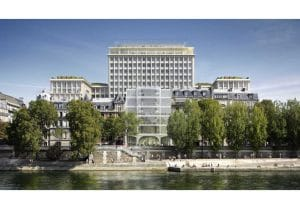 RT existant Rénovation de la cité administrative de Morland à Paris (75)
