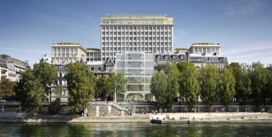 RT existant Rénovation de la cité administrative de Morland à Paris (75)