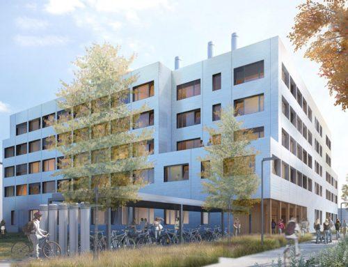 Construction d'un bâtiment sur le campus universitaire – Etude PHPP