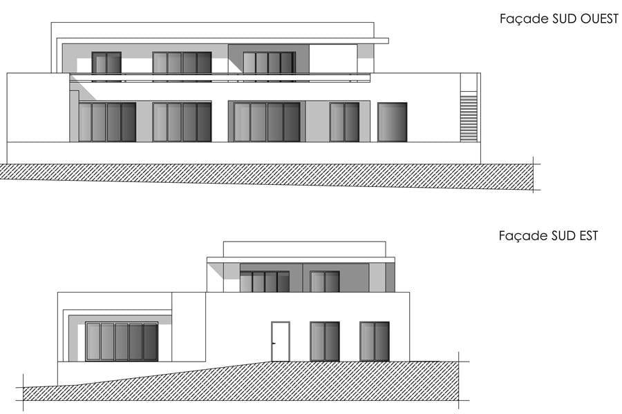 RT2012 Construction maison neuve à BRUGUIÈRES (31)