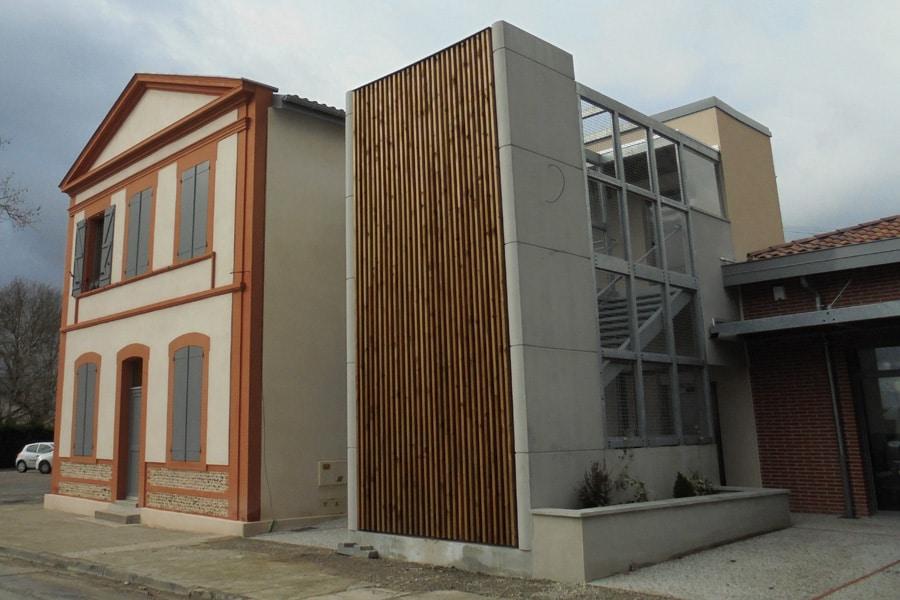 ETUDES & MOE CVC Médiathèque à VILLENEUVE LES BOULOC (31)
