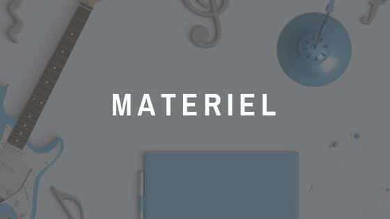 Notre matériel de qualité est d'importance majeure.