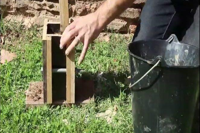 Expérience mini-murs de pisé