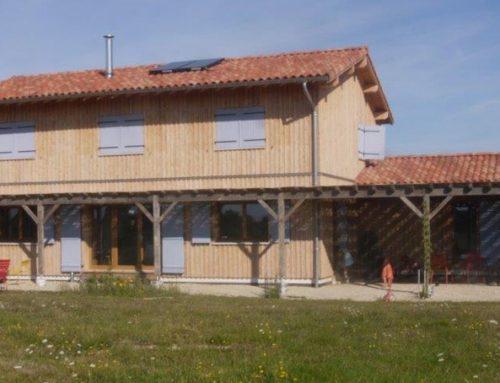 Construction de maison en paille à SAINT-RUSTICE