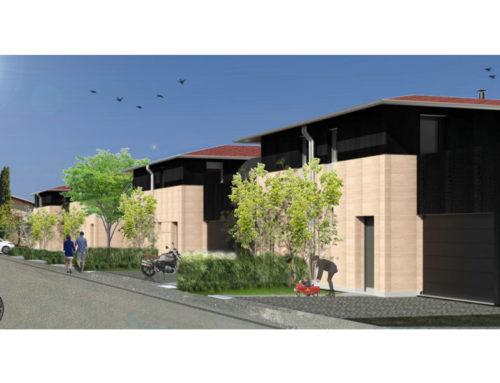 Maisons individuelles avec béton de terre – R&D