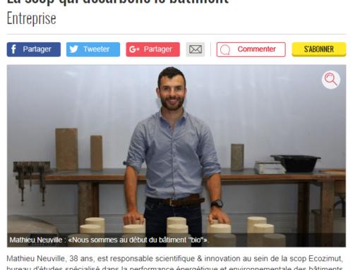 Interview de Mathieu Neuville par La Dépêche