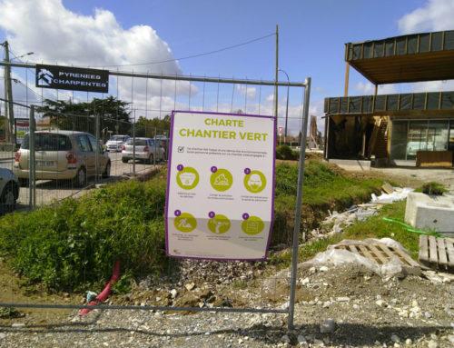 La minute déchets : notre signalétique sur chantier vert
