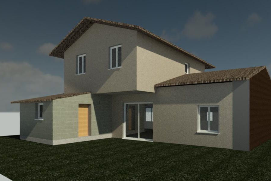 Rénovation et surélévation de maison à TOULOUSE (31)