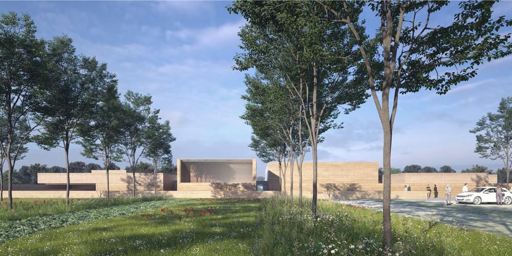Construction crématorium à Saint-Orens de Gameville (31)