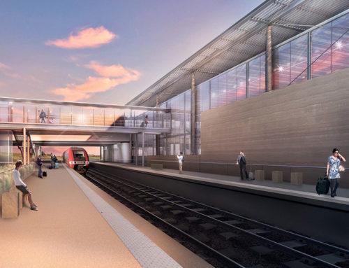 CONCOURS CONSTRUCTION TERRE- Gare TGV à NÎMES-MANDUEL