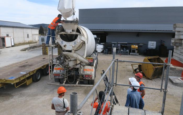 Construction nouveau siège de Couserans Construction