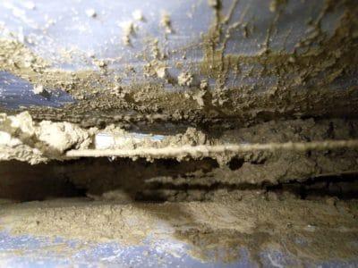 Schema mur en terre crue Baudrimont Toulouse