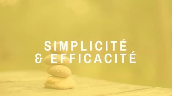 La simplicité et l'efficacité sont les directives que nous nous engageons à suivre dans nos réflexions de conception afin de proposer des solutions fiables, durables et peu couteuses dans le temps.