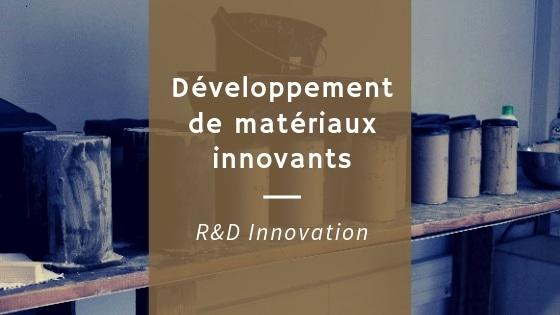 Développement de matériaux innovants pour les industriels