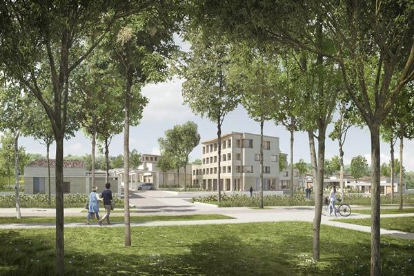 Concours gagné : 55 logements terre avec Boris Bouchet