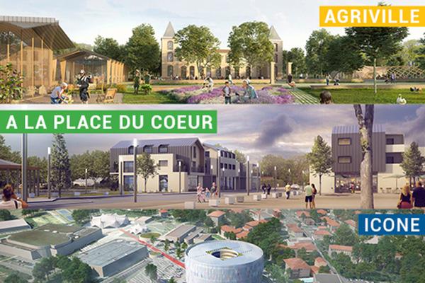 """Ecozimut lauréate sur 3 projets """"Dessine-moi Toulouse"""" : Agriville, A la place du cœur et Icone"""
