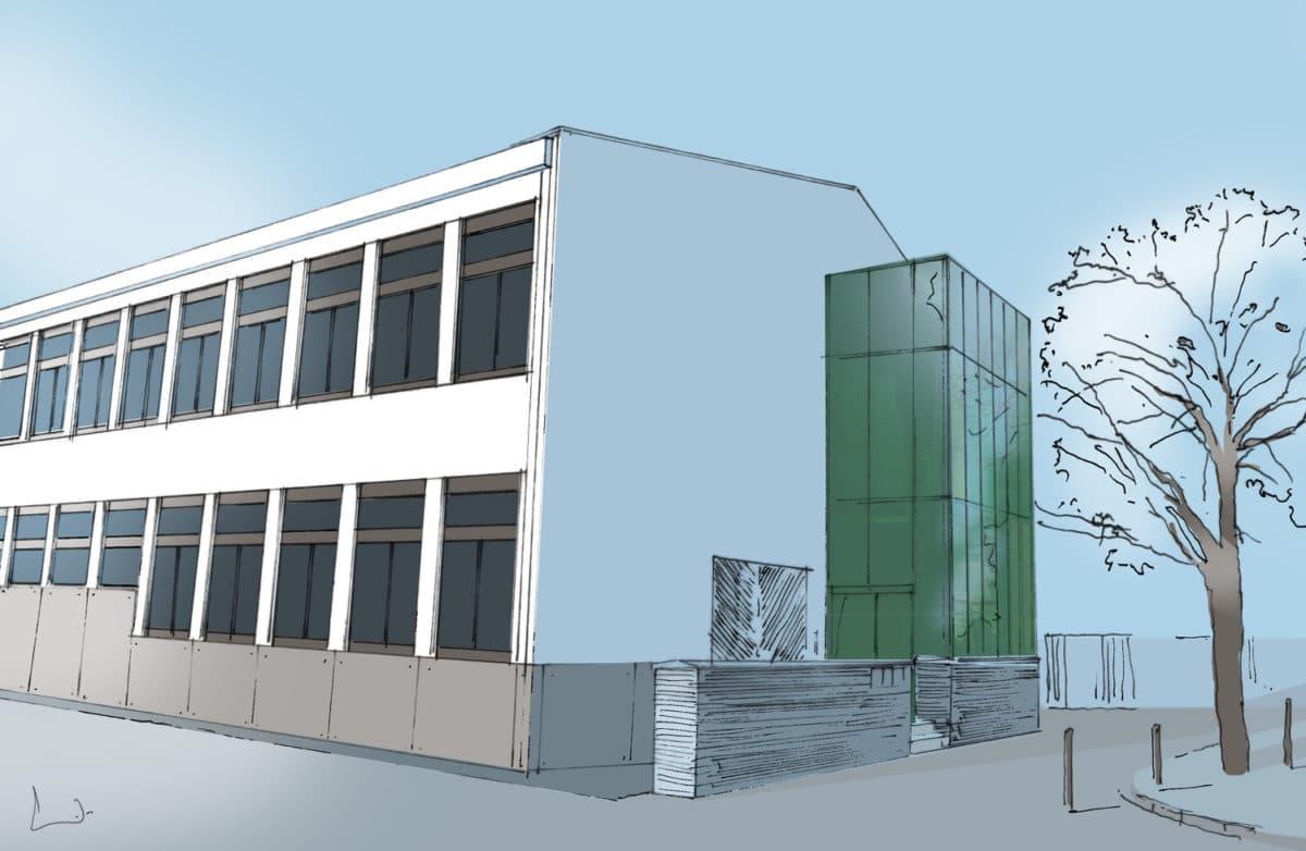Rénovation du groupe scolaire F. Bécane à VILLENEUVE-TOLOSANE
