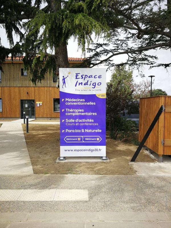 Construction centre de santé Espace Indigo - Muret