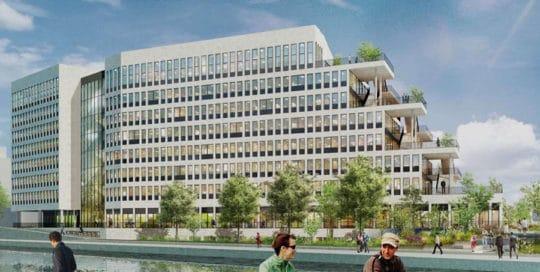 Construction de bâtiment de bureaux IRRIGO à Bobigny