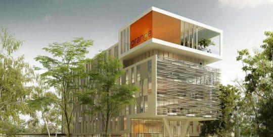 Construction du campus ORANGE à Balma
