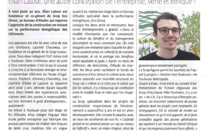 Interview Elian Latour revue des SCOP 670