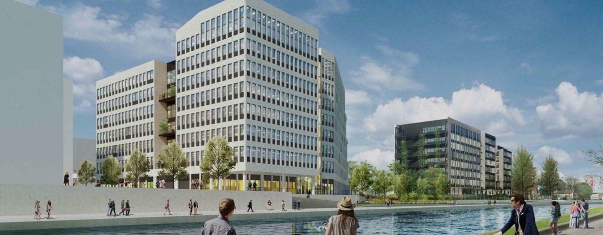 Construction de bâtiment de bureaux IRRIGO à Bobigny (93)