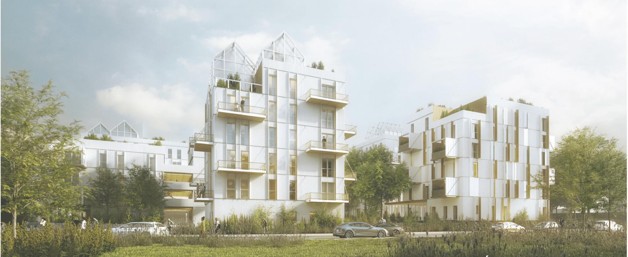 Conception de 122 logements sur l'ilot S24 de la ZAC de Saint Martin du Touch