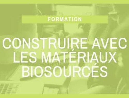 Construire avec les matériaux biosourcés