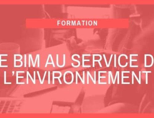 Le BIM au service de l'environnement