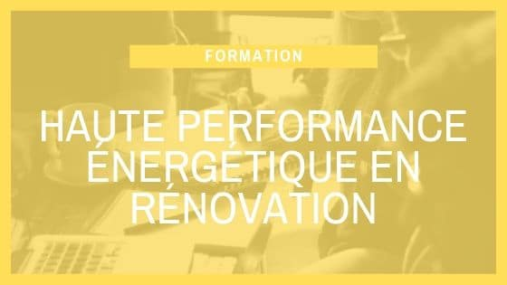 Formation SCOP Ecozimut -La haute performance énergétique en rénovation