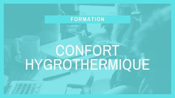 Formation SCOP Ecozimut - Le confort hygrothermique