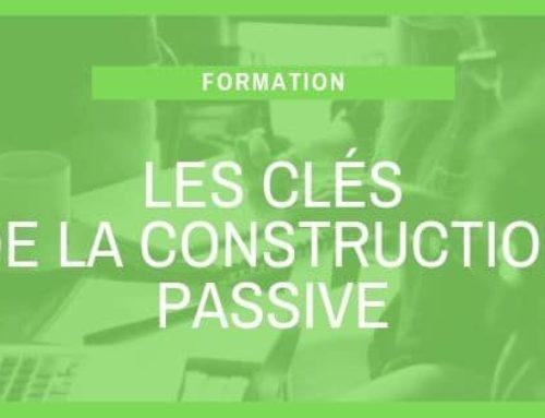 Les clés de la construction passive