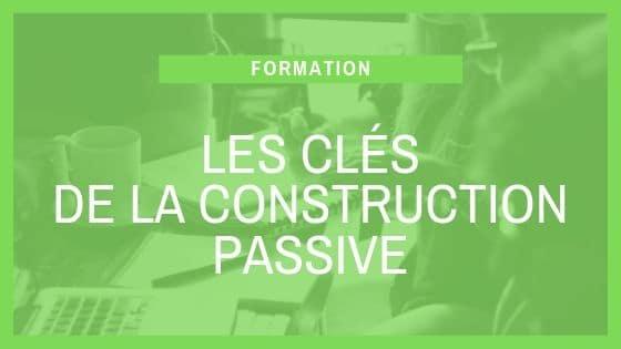 Formation SCOP Ecozimut - Les clés de la construction passive