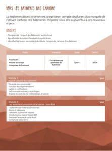 Formation SCOP Ecozimut - Vers les bâtiments bas carbone