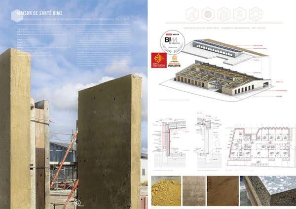 Projet commun SCOP Ecozimut et C+2B - Construction maison de santé pluriprofessionnelle à Prat-Bonrepaux
