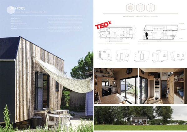 Projet commun SCOP Ecozimut et C+2B - Tiny House
